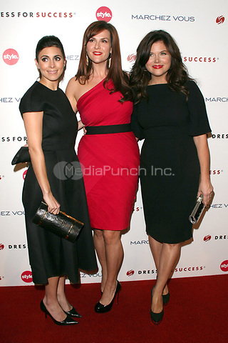 Jamie-Lynn Sigler, Sara Rue and Tiffani Thiessen at the 3rd Annual Give & Get Fete benefiting Dress For Success Worldwide-West at The London Hotel on November 7, 2011 in West Hollywood, California. © mpi21 / MediaPunch Inc.