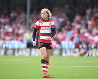 9th October 2021; Kingsholm Stadium, Gloucester, England; Gallagher Premiership Rugby, Gloucester versus Sale Sharks;  Billy Twelvetrees of Gloucester takes to the field