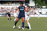 Cary, North Carolina  - Saturday June 03, 2017: Rosana and Christina Gibbons during a regular season National Women's Soccer League (NWSL) match between the North Carolina Courage and the FC Kansas City at Sahlen's Stadium at WakeMed Soccer Park. The Courage won the game 2-0.