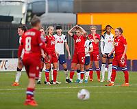 Jess Fishlock of Reading prepares to take a free kick during Tottenham Hotspur Women vs Reading FC Women, Barclays FA Women's Super League Football at the Hive Stadium on 7th November 2020