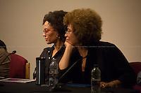 "13.12.2013 - Angela Davis & Gina Dent ""On Palestine, G4S and the Prison Industrial Complex"""