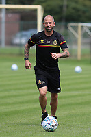 Steven Defour of KV Mechelen pictured during the warm up before a friendly soccer game between KV Mechelen and the Greek Volos NFC during the preparations for the 2021-2022 season , on saturday 17 of July 2021 in GEEL , Belgium . PHOTO SEVIL OKTEM | SPORTPIX