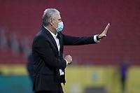4th June 2021; Beira-Rio Stadium, Porto Alegre, Brazil; World Cup 2022 qualifiers; Brazil versus Ecuador; Brazil manager Tite sends in instructions