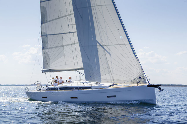 File image of X-Yachts X4⁹ performance yacht on the water