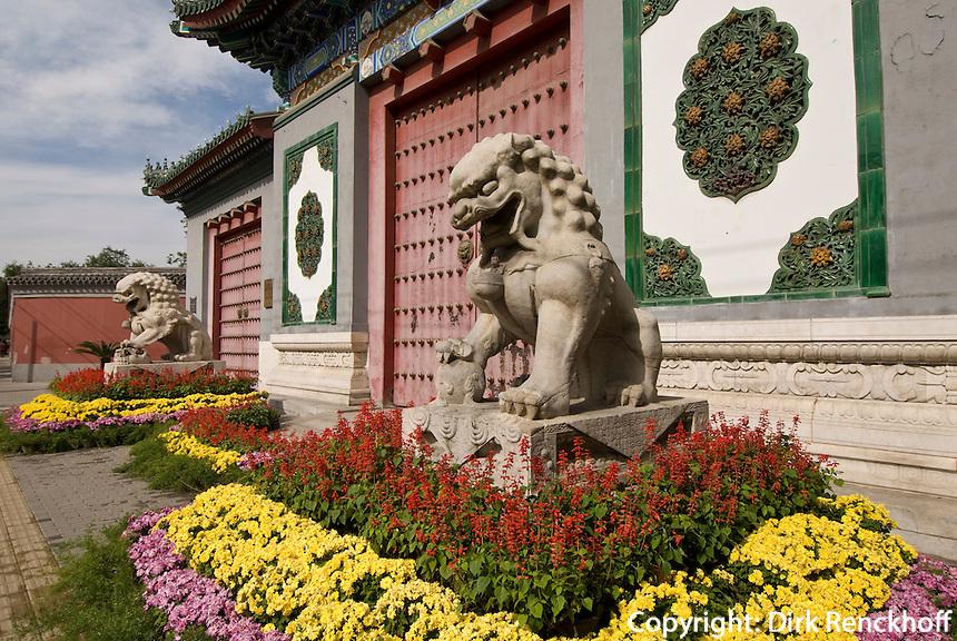 China, Peking (Beijing), Bibliothek der alten Bücher auf der Wenjin Jie