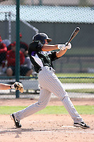 Brian Rike, Colorado Rockies 2010 minor league spring training..Photo by:  Bill Mitchell/Four Seam Images.