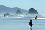 """Children play on beach at Roads End Lincoln City Oregon Children play Pacific Ocean Oregon, Oregon Coast, coastline, Pacific coast, shoreline, sea cliffs, beaches, stacks, Pacific Northwest, Pacific Ocean,  Fine art Photography and Stock Photography by Ronald T. Bennett Photography ©, FINE ART and STOCK PHOTOGRAPHY FOR SALE, CLICK ON  """"ADD TO CART"""" FOR PRICING, Fine Art Photography by Ron Bennett, Fine Art, Fine Art photography, Art Photography, Copyright RonBennettPhotography.com © Fine Art Photography by Ron Bennett, Fine Art, Fine Art photography, Art Photography, Copyright RonBennettPhotography.com ©"""