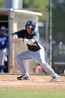 Seattle Mariners shortstop Pedro Okuda (66) during an instructional league game against the Kansas City Royals on October 2, 2013 at Surprise Stadium Training Complex in Surprise, Arizona.  (Mike Janes/Four Seam Images)