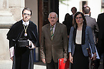 Writer Juan Goytisolo attend `2014 Cervantes Award´ at Alcala de Henares University in Alcala de Henares, Spain. April 23, 2015. (ALTERPHOTOS/Victor Blanco)