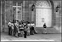 Marche Bonsecour<br /> ,Montreal vers 1980<br /> <br /> PHOTO :  Patry- Agence Quebec Presse <br /> <br /> NOTE : Scan de tirages non dates - des cans de negatif suiverons avec les dates
