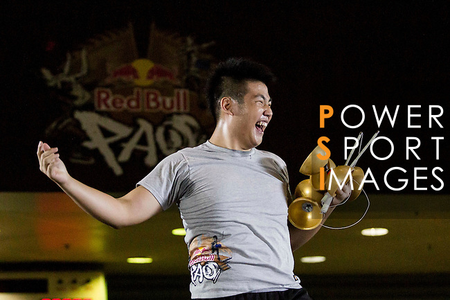 Athletes in action during the Red Bull PAO 2015 at the National Taiwan Science Education Centre in Taipei, Taiwan. Photo by Victor Fraile / Power Sport Images