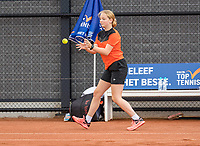 Amstelveen, Netherlands, 6 Juli, 2021, National Tennis Center, NTC, Amstelveen Womans Open, ballgirl<br /> Photo: Henk Koster/tennisimages.com