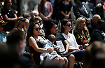 Family and friends of Las Vegas Metropolitan Police Department Lt. Erik Lloyd participate in the annual Nevada Law Enforcement Officers Memorial ceremony, in Carson City Nev., on Thursday, May 6, 2021. Lloyd died in the line of duty in July 2020. <br /> Photo by Cathleen Allison