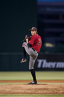 AZL Diamondbacks starting pitcher Jake Polancic (21) delivers a pitch to the plate against the AZL Angels on August 20, 2017 at Diablo Stadium in Tempe, Arizona. AZL Angels defeated the AZL Diamondbacks 19-1. (Zachary Lucy/Four Seam Images)