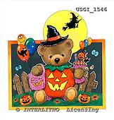 GIORDANO, CUTE ANIMALS, LUSTIGE TIERE, ANIMALITOS DIVERTIDOS, Halloween, paintings+++++,USGI1546,#AC#