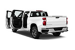 Car images of 2020 Chevrolet Silverado-1500 LT 4 Door Pick-up Doors