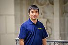 October 12, 2021; Tengfei Luo, Professor of Aerospace and Mechanical Engineering (Photo by Matt Cashore/University of Notre Dame)