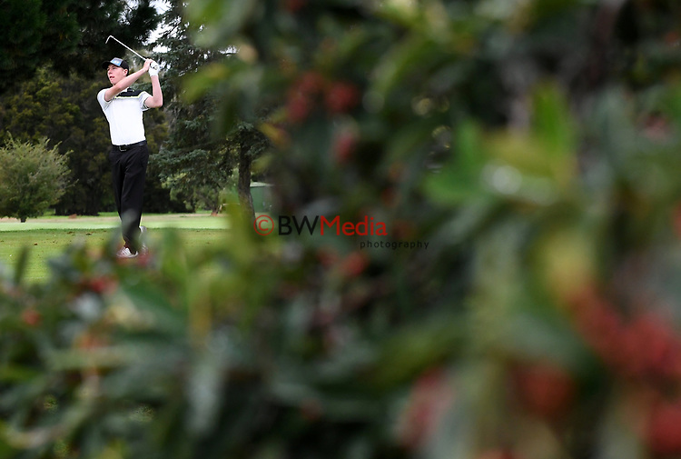 during the New Zealand Stroke Play Championship Golf Tournament at Hastings Golf Club, Hastings, New Zealand, Saturday 25 March 2017.  Photo: Kerry Marshall/www.bwmedia.co.nz