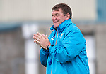 St Johnstone Training….09.08.18<br />Manager Tommy Wright pictured during training at McDiarmid Park ahead of Sunday's game against Hibs<br />Picture by Graeme Hart.<br />Copyright Perthshire Picture Agency<br />Tel: 01738 623350  Mobile: 07990 594431