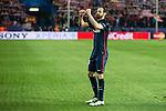 Atletico de Madrid's Juanfran celebrating the victory during Champions League 2015/2016 Quarter-Finals 2nd leg match. April 13, 2016. (ALTERPHOTOS/BorjaB.Hojas)