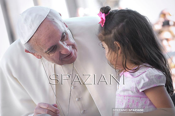 Pope Francis during his weekly general audience in St. Peter square at the Vatican, Wednesday.2 October  2013
