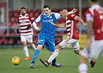 Hamilton Accies v St Johnstone…09.12.17…  New Douglas Park…  SPFL<br />Blair Alston and Darian MacKinnin<br />Picture by Graeme Hart. <br />Copyright Perthshire Picture Agency<br />Tel: 01738 623350  Mobile: 07990 594431