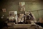 Sewing needles production shop. Arty mechanical plant. Russia, Sverdlovsk Oblast, Arty village, May 2009