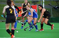 Wellington v Auckland White. 2021 National Women's Under-18 Hockey Tournament at National Hockey Stadium in Wellington, New Zealand on Sunday, 11 July 2021. Photo: Dave Lintott / lintottphoto.co.nz https://bwmedia.photoshelter.com/gallery-collection/Under-18-Hockey-Nationals-2021/C0000T49v1kln8qk