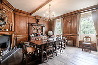 BNPS.co.uk (01202) 558833<br /> Picture: Strutt&Parker/BNPS<br /> <br /> Pictured: Dining Room<br /> <br /> A handsome Georgian townhouse where a former Prime Minister held important meetings is on the market for £1.5m.<br /> <br /> Glenhurst is a Grade II Listed home in Bewdley, Worcs, which was Stanley Baldwin's hometown.<br /> <br /> The owners have minutes from a meeting held at the property over a century ago which show Baldwin's name listed.<br /> <br /> Baldwin was Prime Minister three times between the First and Second World Wars and it is believed that during this time he used Glenhurst's wood-panelled dining room for meetings.