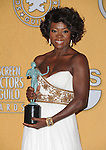 Viola Davis attends the 18th Annual Screen Actors Guild Awards held at The Shrine Auditorium in Los Angeles, California on January 29,2012                                                                               © 2012 Hollywood Press Agency