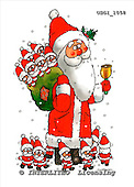 GIORDANO, CHRISTMAS SANTA, SNOWMAN, WEIHNACHTSMÄNNER, SCHNEEMÄNNER, PAPÁ NOEL, MUÑECOS DE NIEVE, paintings+++++,USGI1058,#X# stickers