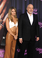 NEW YORK, NY - SEPTEMBER 14: Leila George and Vincent D'Onofrio at the New York Premiere of The Eyes Of Tammy Faye at the SVA Theatre in New York City on September 14, 2021. Credit: Erik Nielsen/MediaPunch