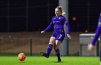 Michele Colson (2) of Anderlecht pictured during a female soccer game between RSC Anderlecht Dames and SV Zulte Waregem on the 10 th matchday of the 2020 - 2021 season of Belgian Womens Super League , friday 18 th of December 2020  in Tubize , Belgium . PHOTO SPORTPIX.BE | SPP | DAVID CATRY
