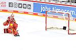 Eishockey DEL 37. Spieltag: Düsseldorfer EG vs <br /> ERC Ingolstadt am 07.04.2021 im ISS Dome in Düsseldorf<br /> <br /> Hie schlägt's hinter Düsseldorfs Torhüter Marko Pantowski  (Nr.30) zum 2:4 ein<br /> <br /> Foto © PIX-Sportfotos *** Foto ist honorarpflichtig! *** Auf Anfrage in hoeherer Qualitaet/Aufloesung. Belegexemplar erbeten. Veroeffentlichung ausschliesslich fuer journalistisch-publizistische Zwecke. For editorial use only.