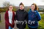Enjoying a stroll in Blennerville on Thursday, l to r: Jemma Walsh, Tara Maher and Stacy Dineen Higgins.