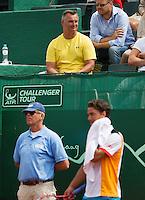 13-07-13, Netherlands, Scheveningen,  Mets, Tennis, Sport1 Open, day six, Stephan Ehritt-Vanc the coach of Jesse Huta Galung (NED)<br /> <br /> <br /> Photo: Henk Koster