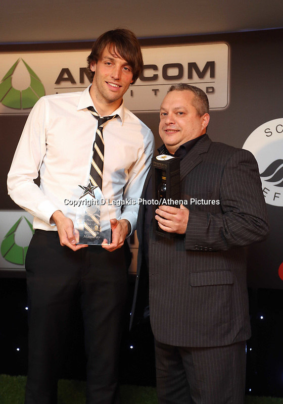 Thursday 16 May 2013<br /> Pictured: Michu (L)<br /> Re: Swansea City FC footballer of the year awards dinner at the Liberty Stadium.