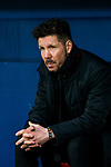 Coach Diego Simeone of Atletico de Madrid looks on prior to the UEFA Europa League 2017-18 Round of 16 (1st leg) match between Atletico de Madrid and FC Lokomotiv Moscow at Wanda Metropolitano  on March 08 2018 in Madrid, Spain. Photo by Diego Souto / Power Sport Images