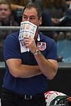 30.03.2019,  Lueneburg GER, VBL, Playoff-Viertelfinale, SVG Lueneburg vs United Volleys Frankfurt im Bild  Trainer Stelio DeRocco (Frankfurt)  Foto © nordphoto / Witke