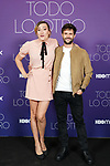 Spanish actress, screenwriter and director Abril Zamora Pelaez and the actor Juan Blanco attend the photocall for HBO Max Original series 'Todo lo otro' presentation. October 15, 2021. (ALTERPHOTOS/Acero)