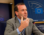 140612: MEP Manfred WEBER, Chairman EPP-group