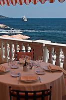 Europe/France/Provence-Alpes-Côte d'Azur/06/Alpes-Maritimes/Beaulieu-sur-Mer: Hôtel: La Réserve de Beaulieu - le restaurant [Non destiné à un usage publicitaire - Not intended for an advertising use]