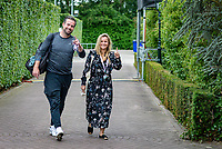 Den Bosch, Netherlands, 13 June, 2018, Tennis, Libema Open, Raemon Sluiter coach of Kiki Bertens and his girlfriend Fatima Moreira de Melo<br /> Photo: Henk Koster/tennisimages.com