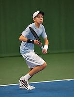 20131201,Netherlands, Almere,  National Tennis Center, Tennis, Winter Youth Circuit, Amadatus Admiraal<br /> Photo: Henk Koster