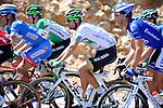 Turkish Beauties Jersey leader Luis Mas Bonet (ESP) Caja Rural-Seguros RGA in the bunch during Stage 5 of the 2015 Presidential Tour of Turkey running 159.9km from Mugla to Pamukkale. 30th April 2015.<br /> Photo: Tour of Turkey/Mario Stiehl/www.newsfile.ie