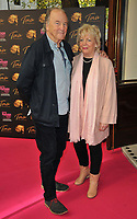 """Michael Elwyn and Alison Steadman at the """"Tina: The Tina Turner Musical"""" Refuge gala performance, Aldwych Theatre, Aldwych, on Sunday 10th October 2021, in London, England, UK. <br /> CAP/CAN<br /> ©CAN/Capital Pictures"""