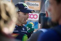 Alejandro Valverde (ESP/Movistar) interviewed by Sporza post-race<br /> <br /> Flèche Wallonne 2016