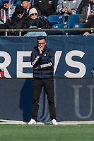 FOXBOROUGH, MA - MARCH 7: Raphael Wicky coach of Chicago Fire during a game between Chicago Fire and New England Revolution at Gillette Stadium on March 7, 2020 in Foxborough, Massachusetts.