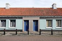 Nederland Amsterdam- 2021. Amsterdam Noord Floradorp. Floradorp is een van de focuswijken in Amsterdam. Floradorp was een van de tuindorpen die tussen 1920 en 1940 werden ontwikkeld in Amsterdam om een tegenwicht te bieden aan de verpauperde volksbuurten in de binnenstad. Foto : ANP/ HH / Berlinda van Dam