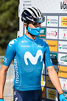 24th March 2021; Castelldefels, Catalonia, Spain; Volta Catalunya Cycling Tour stage 3 from Canal Olimpic de Catalunya to Vallter 2000; DARIO CATALDO of Movistar TEAM